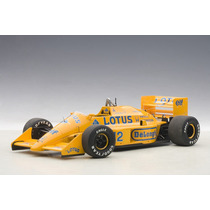 Fórmula 1 Lotus Honda 99t Ayrton Senna Auto A Escala