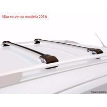 Travessas Renault Duster 2012 2013 2014 2015 Rack Teto Prata