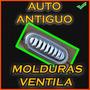 Molduras Tipo Ventila Auto Antiguo - Ford - Chrysler -