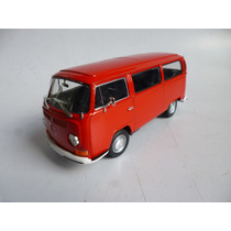 Vw Combi 1972 T2 Esc: 1/24 Welly Auto Escala Coleccion