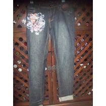 Ed Hardy Jeans Corte Recto Talla 25