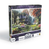 Brinquedo Quebra Cabeça Puzzle 5000 Peças Jardim Vitoriano