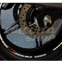 Friso Adesivo Tuning Roda Refletivo M04 Moto Honda Cb 300 R