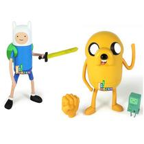 2 Bonecos Jake E Finn Hora Da Aventura! Cartoon Network