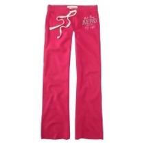 Pantalon Mono Rosado Talla L Aeropostale Original!!!
