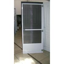 Puerta Mosquitero Anti Dengue De Aluminio C Zócalo En Wilde