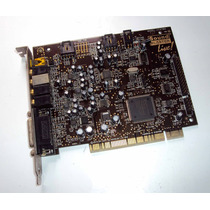 Placa De Som Creative Sound Blaster Live Ct4760-5.1 Original