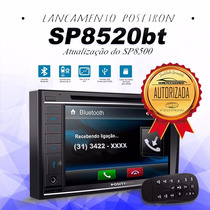 Dvd Player Positron Sp8500 Bt Bluet Tela 6.2 Usb Sd 2 Din