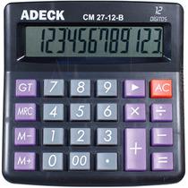 Calculadora De Mesa 12 Dígitos Display Grande - Adeck