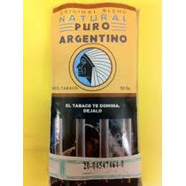 5 Pouch Tabaco De Armar Puro Argentino Sin Aditivos 5 Sobres