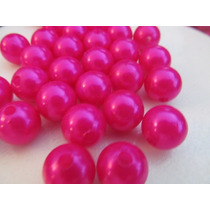 100 Perlas Insumo Para Bijouterie 10mm 12mm