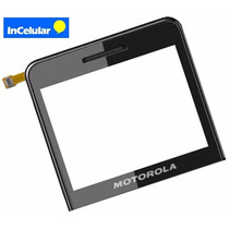 Touch Cristal Motorola Motokey Ex118 Ex 118 Pegamento Gratis