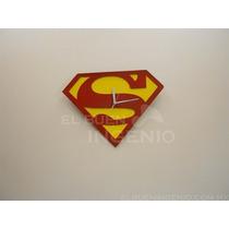 Reloj De Pared De Colección Superman Fabricado En Metal