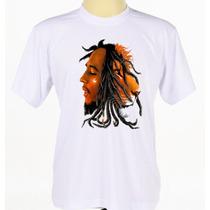 Camisa Camiseta Personalizada Cantor Reggae Bob Marley Leão