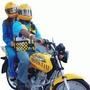 Talonario Grande 50 Recibos Para Mototaxi Color Solo Envios