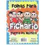 Bloco P/ Fichário Turma Da Mônica 96fls Foroni