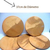 Pedra Refratária Para Pizza 37cm - Direto Do Fabricante