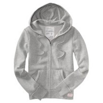 Sweter Capucha Gris Talla M Aeropostale Original!!!