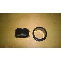 Expansores Acrílico Negros Double O-ring 35mm Importados