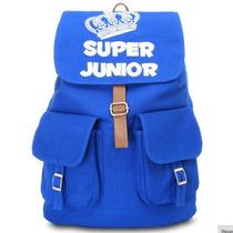 Mochila Super Junior Kpop Original En Existencia