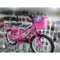 Bicicleta Playera Full Rodado16 Dama