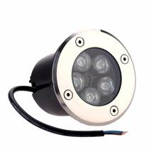 4 Balizador Luminária Led Piso 5w