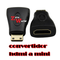 Convertidor Hdmi Hembra A Mini Hdmi Macho Tipo C Adaptador