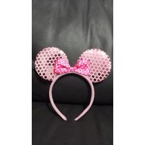 10 Orejas Minnie Mouse Raton Diadema Mimi Colores Fiesta