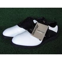 Sapato Mizuno P/ Golf Soft-trax Tam 39 - Us8 Masc Novo Golfe