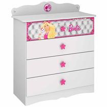 Cômoda Infantil Barbie Disney Star - Pura Magia