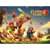 Boneco Clash Of Clans 3 Bonecos Mago Rei Brinquedo Promocao
