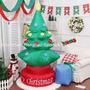 Arbol Pascua Navidad Inflable 2,1 Mts + Compresor