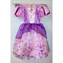 Disfraz Vestido Rapunzel Niñas 8 A 10 Años Disney Infinite