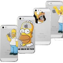 Funda Case Homero Simpsons Iphone 4 4s 5 5s 5c 6 6 Plus Mica