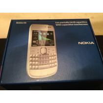 Nokia E6 Plata.telcel.nuevo.$1999 Con Envio.qwerty Con Touch
