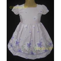 Vestido Festa Infantil Floral Princesa Com Bolero Casaquinho