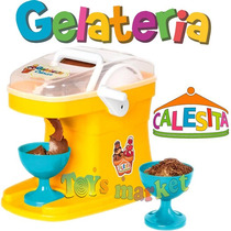 Fabrica De Helados De Crema Ice Cream Factory Calesita Tv