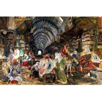 Lienzo Tela Bazar Constantinopla Arte Oriental John Lewis