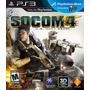 Socom 4 Ps3 Original Nuevo Disco Físico Compatible Con Move
