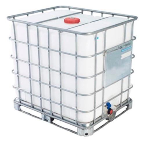 Reservatorio ibc semi novo de 1000 litros r 432 90 em Tanque de agua 1000 litros