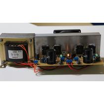 Placa Montada Amplificador 250w Com Dissip. Fonte E Trafo.