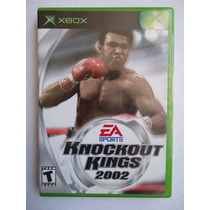 Knockout Kings 2002 Para Xbox Primera Gen. Gran Juego De Box