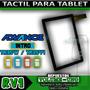Tactil Para Tablet Advance Kids - Tr3544 - Tr3547