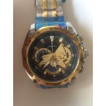 Relógio Casio Edifice Redbull Ef-550 Rbsp Gold Edition