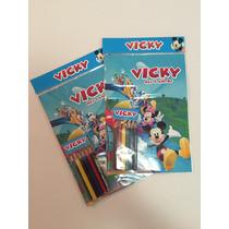 Libros Personalizado Para Colorear Con Lapices De Colores