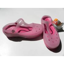 Crocs Mary Jane Cambian De Color Con El Sol Somos Tienda!!!