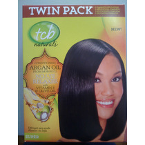Desriz Tcb Naturals Aragan Con Oliva Twin Pack Super/coarse