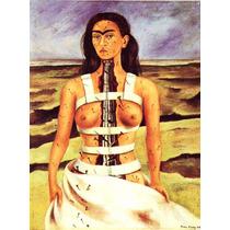 Lienzo Tela Columna Rota Frida Kahlo 67 X 50 Cm