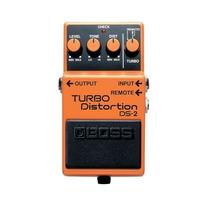 Boss Turbo Distortion Ds-2: Pedal De Distorcao P/ Guitarra