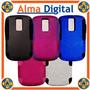 Forro Doble Perforado Blackberry Bold 9000 Carcasa Silico